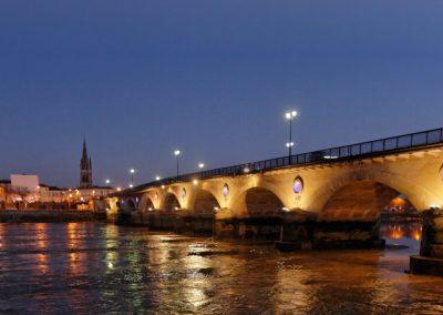 Pont de Bordeaux à Libourne